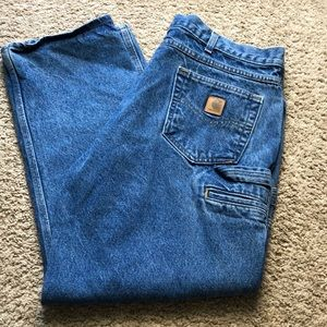 Carhartt. Men's relaxed fit jeans. 40x30